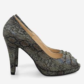 Pantofi din piele naturala Makayla