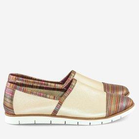 Pantofi din piele naturala necaptusita Georgia