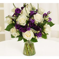 Lisianthus Rose Bouquet
