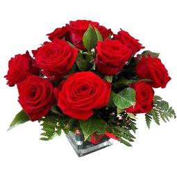 Trandafiri in vaza