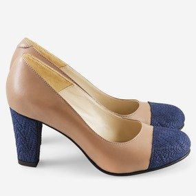Pantofi comozi din piele naturala Babett