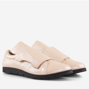 Pantofi din piele naturala roz Florida