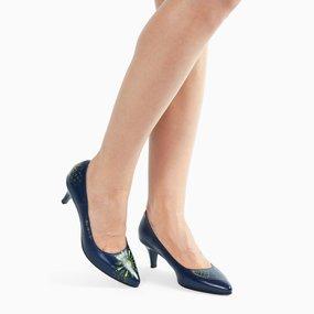 Pantofi Paisley pictati manual