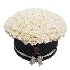 Scatola 150 Rose Bianche | Million Roses Box | FlorPassion Milano