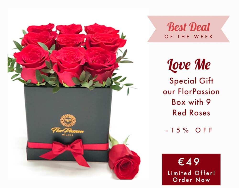 Love Me Luxury Florist Milan FlorPassion