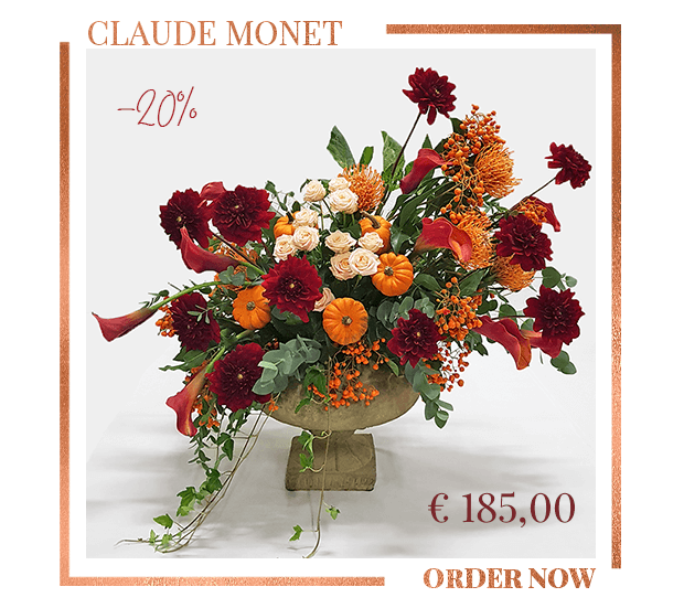 Claude Monet Floral Arrangement Flower Delivery Mi