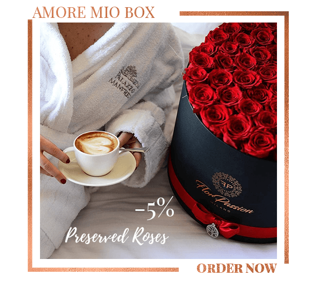 Preserved Rose Luxury FlorPassion Box