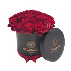Red Roses Box | Million Roses | Luxury FlorPassion Box Milan