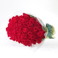 Bouquet con 99 Rose Rosse
