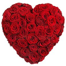 Cuore Rose Rosse Large