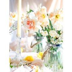 Easter Organic Flowers Set