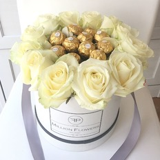 Ferrero White Rose Box