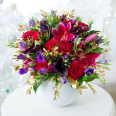 Luxury Festive Christmas Flowers | Best Milan Local Florist | FlorPassion