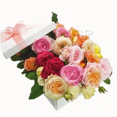 Garden Roses Gift Box