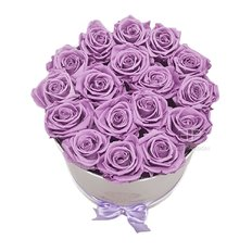 Lilac FlorPassion Box Rose Eterne