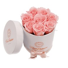 Little Love Bridal Pink Preserved Roses