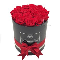 Scatola 15 Rose Rosse Stabilizzate | Million Roses | FlorPassion
