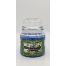 Natural Candle Jar, 100% Vegetable Wax, Blueberry Ice