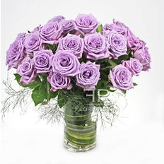 Lilac Roses | Send Roses to Milan | Flower Delivery