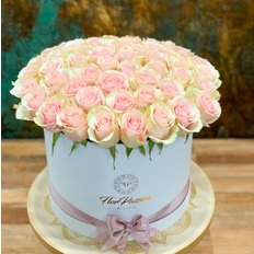 Rose Rosa in Scatola FlorPassion Box | Million Roses | Fiori in Scatola