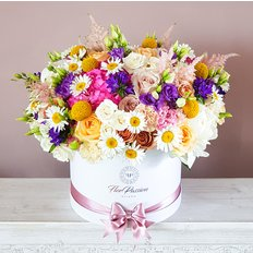 Summer Flower Box | Luxury Flowers Milan | Local Florist Milan
