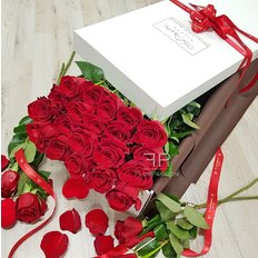 24 Red Roses | Valentine's Day Gift | FlorPassion Local Florist