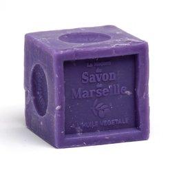 Cub de Sapun de Marsilia 300gr - Ulei Esential de Lavanda
