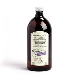 Detergent de rufe Lichid de Marsilia 1L - LAVANDA