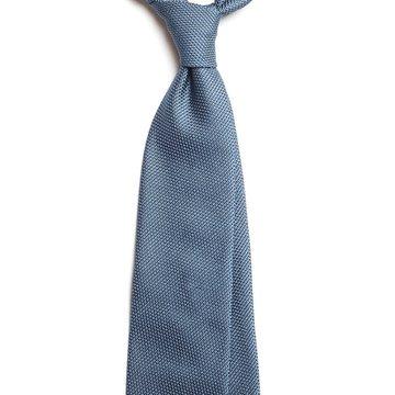 Handrolled Grenadine Silk Tie - Lavender