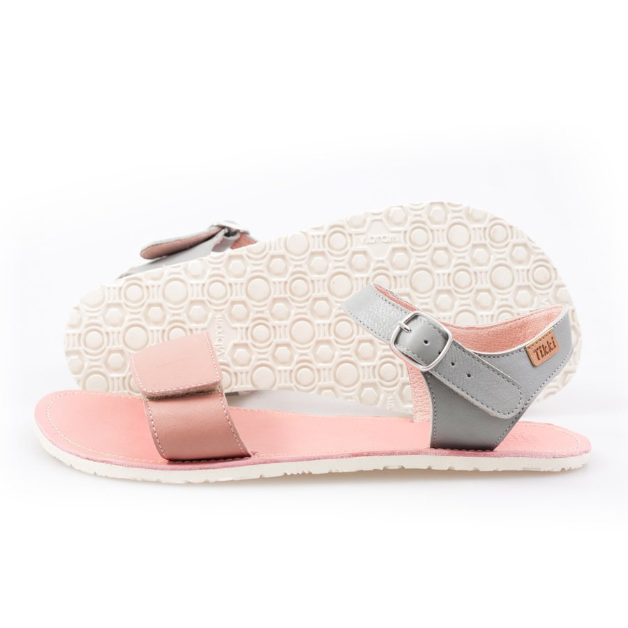 Adjustable Strap Sandals Pink Grey In Stock Tendencies Footbed 2 Brown 41 1