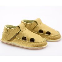 Barefoot kids sandals - Lime