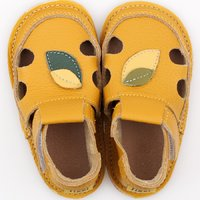 Barefoot kids sandals - Nature
