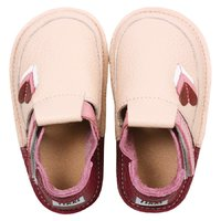 Barefoot kids shoes - Classic Little hearts
