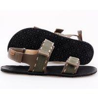 Barefoot men's sandals - MOSS -Gray