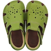 Barefoot sandals - Aranya Lime 19-23 EU