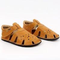 Barefoot sandals - Aranya Mustard 24-29 EU
