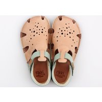 Barefoot sandals - Aranya Peach Duo 24-32 EU