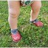 Barefoot sandals - Aranya Strawberry 19-23 EU