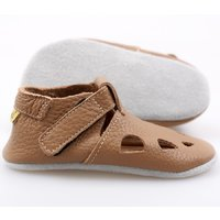 'Chubby' Chrome Free soft shoes - Cappuccino