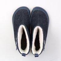 Cizme lână adulți NANOOK - Albastru