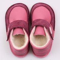 Ghete Barefoot cu lână - Cherry Buttons - EDITIE LIMITATA