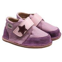 Ghete piele Barefoot - Purple Rock