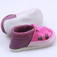 Multicolor soft shoes - Purple & Fuchsia