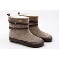 OUTLET Adult wool boots NANOOK - Brown