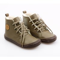 OUTLET Barefoot boots - Beetle Kaki 24-29 EU