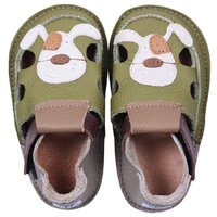 OUTLET - Barefoot kids sandals - Smiley puppy