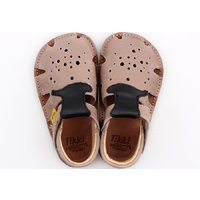OUTLET - Barefoot sandals - Aranya Moustache 19-23 EU