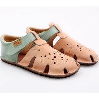OUTLET - Barefoot sandals - Aranya Peach Duo 24-32 EU