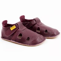 OUTLET Leather barefoot sandals - NIDO Fig