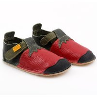 OUTLET Pantofi Barefoot 24-32 EU - NIDO Strawberry